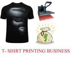 how to start your own t shirt printing business at home