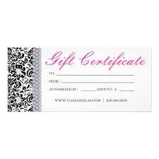 22 free printable hair salon gift certificate template salon gift
