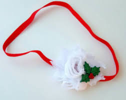 mistletoe headband mistletoe headband etsy