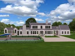 3d modeling and rendering of a 12 000 sq ft traditional custom