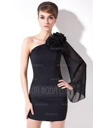 a linie one shoulder trager kurz mini chiffon brautjungfernkleid mit drapiert p603 39 best evening dresses images on evening dresses