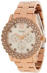 bracelet watches guess images Guess rose gold tone shimmering women 39 s watch u0335l3 jpg