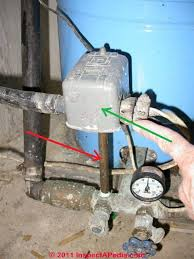 well pump pressure control switch how to find u0026 adjust the water