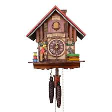quilt shop cuckoo clock w 1 day movement it s