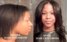 sewed in hair extensions protective style sewn in hair extensions