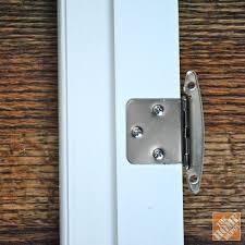 How To Hinge A Cabinet Door Diy Glass Cabinet Doors