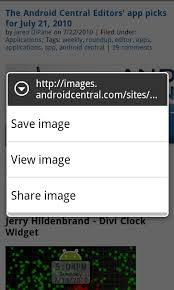 how to save to android save images from your browser android central