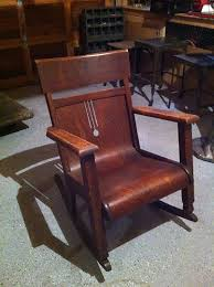 Mission Style Rocking Chair Beautiful Antique Mission Oak Rocker Wisconsin Chair Co
