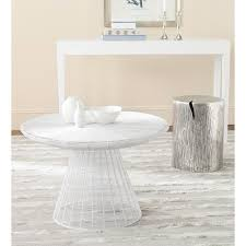 wayfair white coffee table safavieh reginald white coffee table fox3210c the home depot