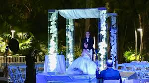 wedding arches rental miami miami acrylic chuppah rental wedding canopy arch rental arcdivine