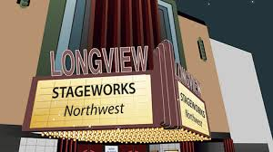 historic theater front and marquee stageworks nw theatre by