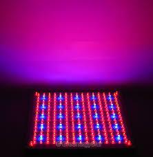 16w 229pcs blue orange led grow light panel 100v 240v 50