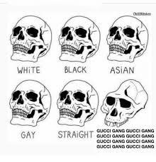 Black And White Memes - chillblinton white black asian gucci gang gucci gang gucci gang