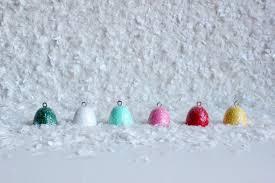 diy glittery gumdrop ornaments