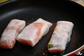 rice paper wrap salmon wrapped in rice paper chef julie yoon
