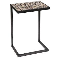 c sofa table cameron mosaic c table pier 1 imports