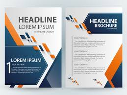 adobe illustrator brochure templates free brochure template design with abstract modern style free vector in