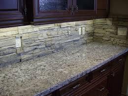 Stone Tile Kitchen Backsplash Kitchen Crafters - Backsplash stone tile