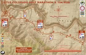 Navajo Reservation Map Little Colorado River Half Marathon U2013 Navajoyes