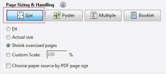 basic pdf printing tasks acrobat reader