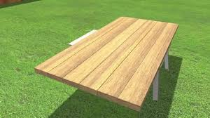c chef c table with legs 38 how to build a picnic table 13 steps with pictures wikihow