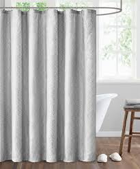 Pink And Grey Shower Curtain by Modern And Luxury Shower Curtains Echo Design