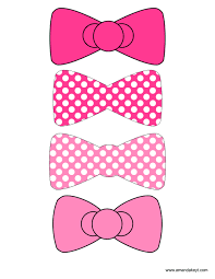 hello bow bows from pink hello inspired printable photo booth