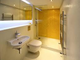 Black And Yellow Bathroom Astonishing White Black And Yellow Bathroom Decor Completed With