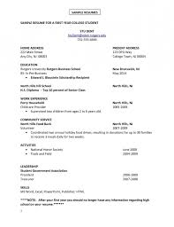 Student Worker Resume College Student Resume For Job Resume Template Example