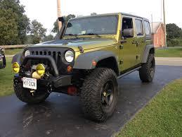 jeep rescue green 2007 jku locked 35 auto 4 88 jkowners com jeep wrangler jk forum