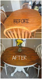 Refinishing Coffee Table Ideas by Best 25 Painted Oak Table Ideas Only On Pinterest Round Oak