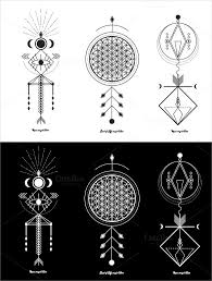 sacred geometric tattoos meaning 1000 geometric tattoos ideas