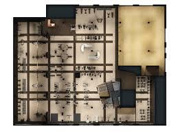 Rendered Floor Plans by Vida Fitness At U Street U2013 Charlottesville Architectural Rendering