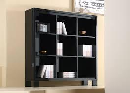 Bookcase Black Wood Black Bookcase Home U0026 Interior Design