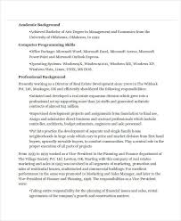 Best Marketing Manager Resume by Real Estate Resumes Real Resume Examples Within Real Estate