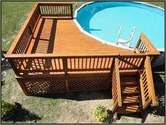 landscaping around above ground pools above ground pool