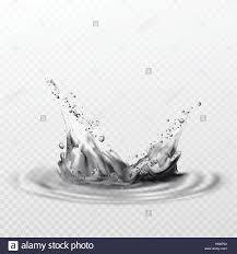 martini transparent background black splashes on a transparent background vector illustration