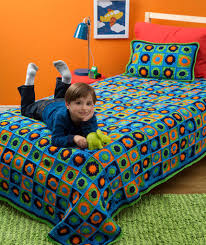 pillow bed for kids kids twin bed afghan pillow red heart