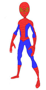 spiderman clipart easy draw pencil color spiderman