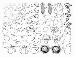 luxury ideas fruit coloring printables and vegetable pages