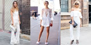 33 cute white jumpsuits and rompers for summer 2016 best white