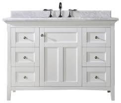 48 White Bathroom Vanity Shop Bathroom Vanities At Lowes White Bathroom Vanity White