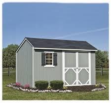 Heartland Luxury Homes by Shop Heartland Stratford Saltbox Engineered Wood Storage Shed