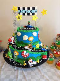 coolest mario kart wii birthday cake mario kart mario