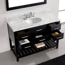 Kirklands Bathroom Vanity by Virtu Usa Caroline Estate 48 Single Bathroom Vanity Set In