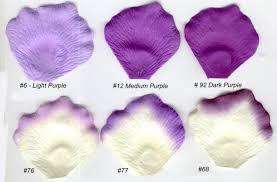 Silk Rose Petals Candle Boutique Com Purple Petals