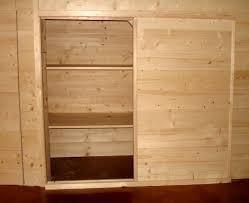 portes de placard de cuisine cuisine un espace bureau au design esprit cabane porte de meuble