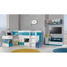lit combiné bureau fille lit combiné bureau enfant mobi bleu mobiler d enfant mobilier