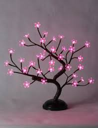 rpgt 45cm cherry blossom bonsai tree light with 72 led
