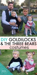3 Family Halloween Costumes by Top 25 Best Goldilocks Costume Ideas On Pinterest Bear Costume